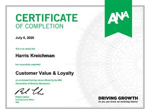 Harris Kreichman Customer Loyalty